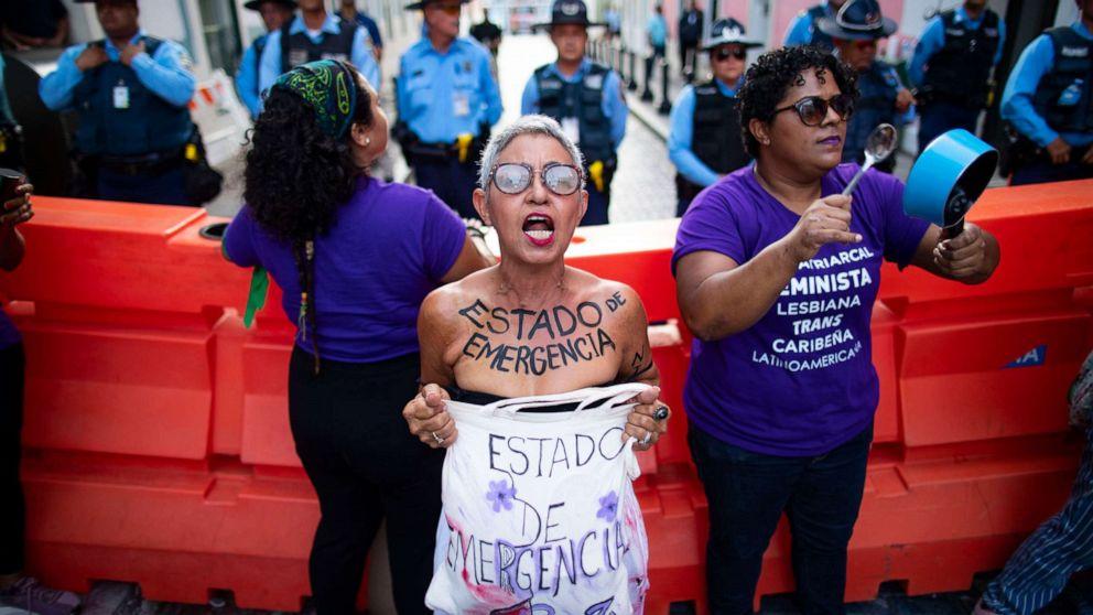 Puerto Rico declara estado de emergencia por crisis de violencia de género