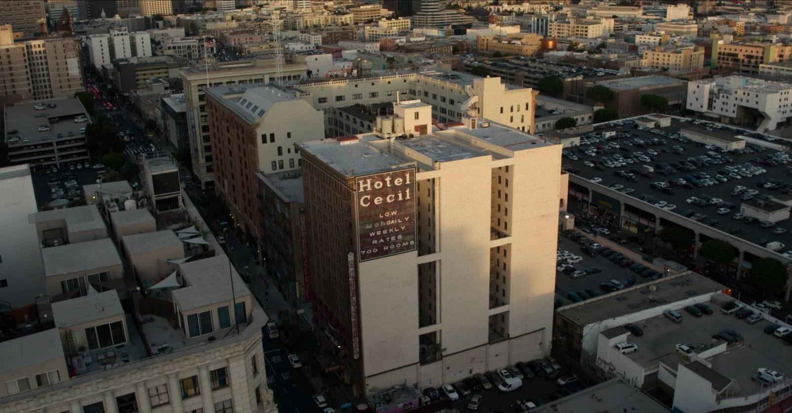 El Hotel Cecil de Los Ángeles y su récord de muertes es el protagonista del nuevo hit de Netflix