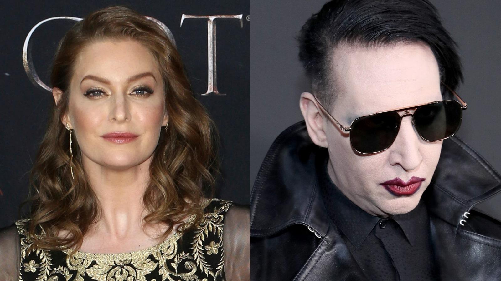 """La actriz Esmé Bianco acusa a Marilyn Manson de abuso sexual: """"Merece pasar el resto de su vida tras las rejas"""""""