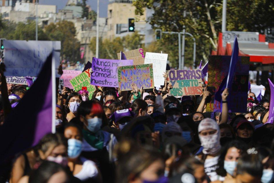 8M: Así salieron las mujeres a las calles en toda Hispanoamérica para reivindicar sus luchas