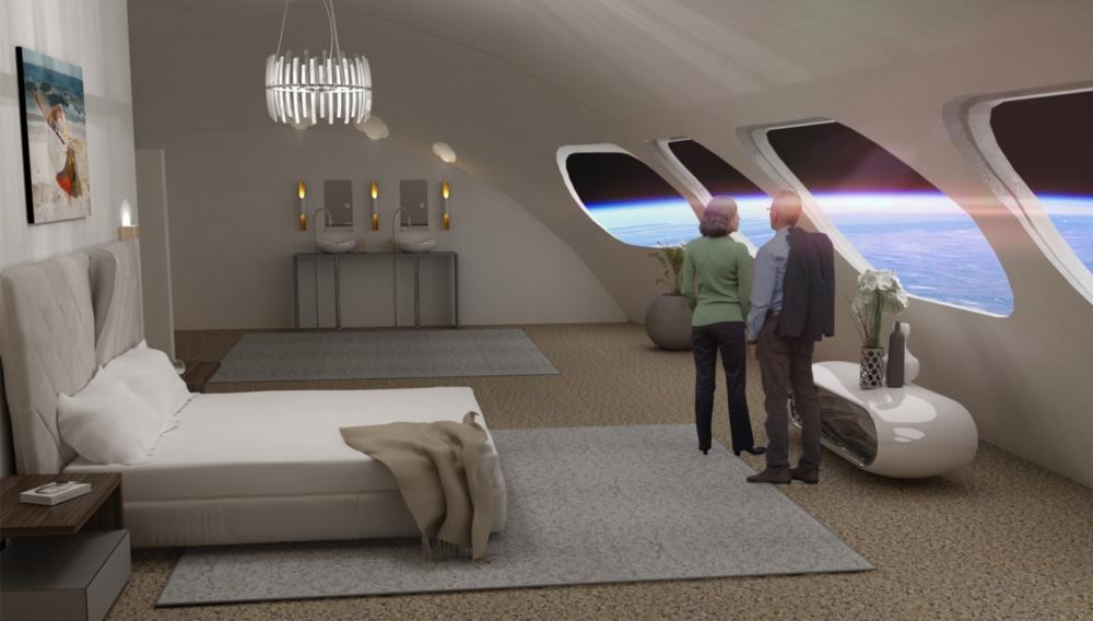 El primer hotel espacial podría estar operativo para el año 2027