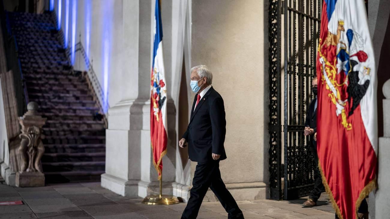 Chile: Piñera propone retrasar las elecciones del 10 y 11 de abril por situación sanitaria del país