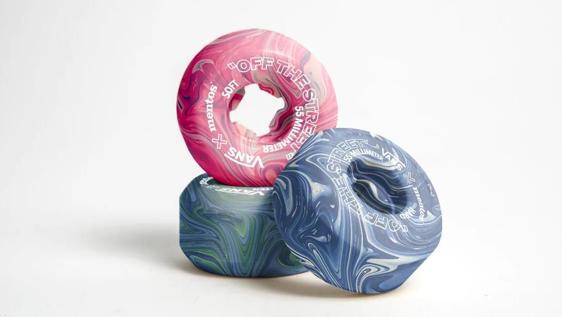 Propuesta de reciclaje de goma de mascar. Fotografía: Hugo Maupetit y Vivian Fischer