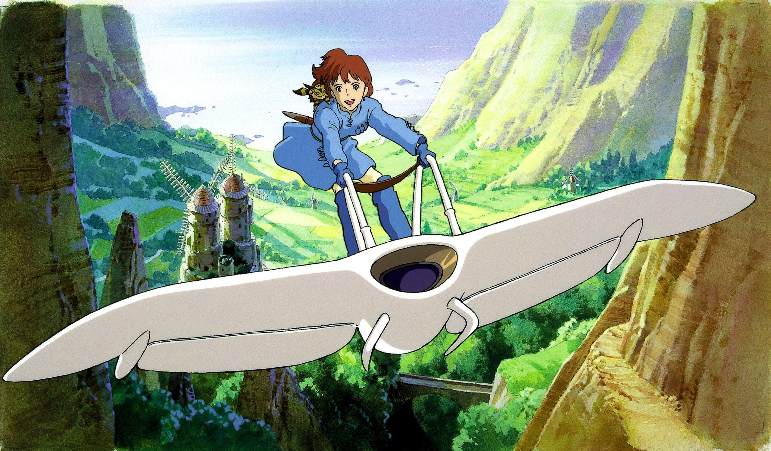 """Hideaki Anno, el creador de """"Evangelion"""", quiere hacer un remake live-action de """"Nausicaä"""" de Studio Ghibli"""