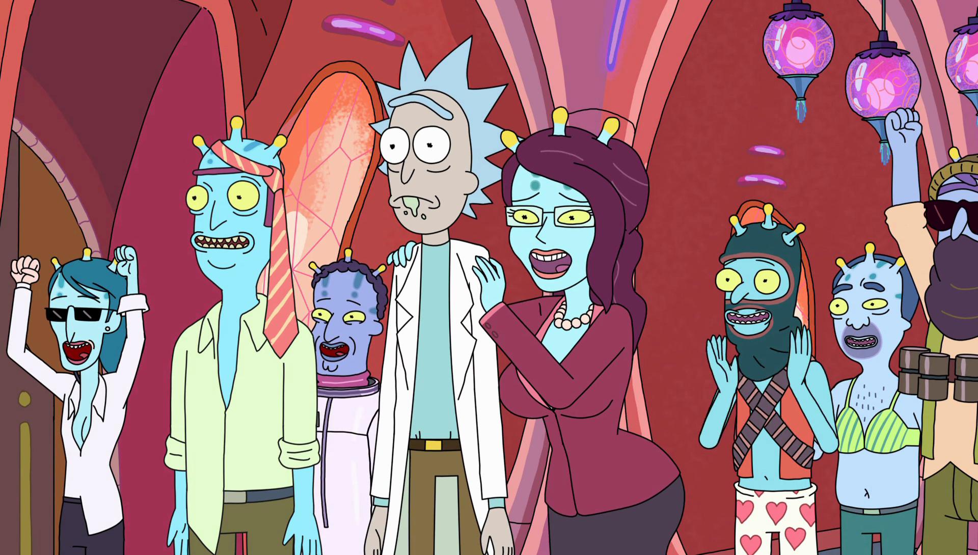 """Rick & Morty"". Fotografía: Adult Swim"