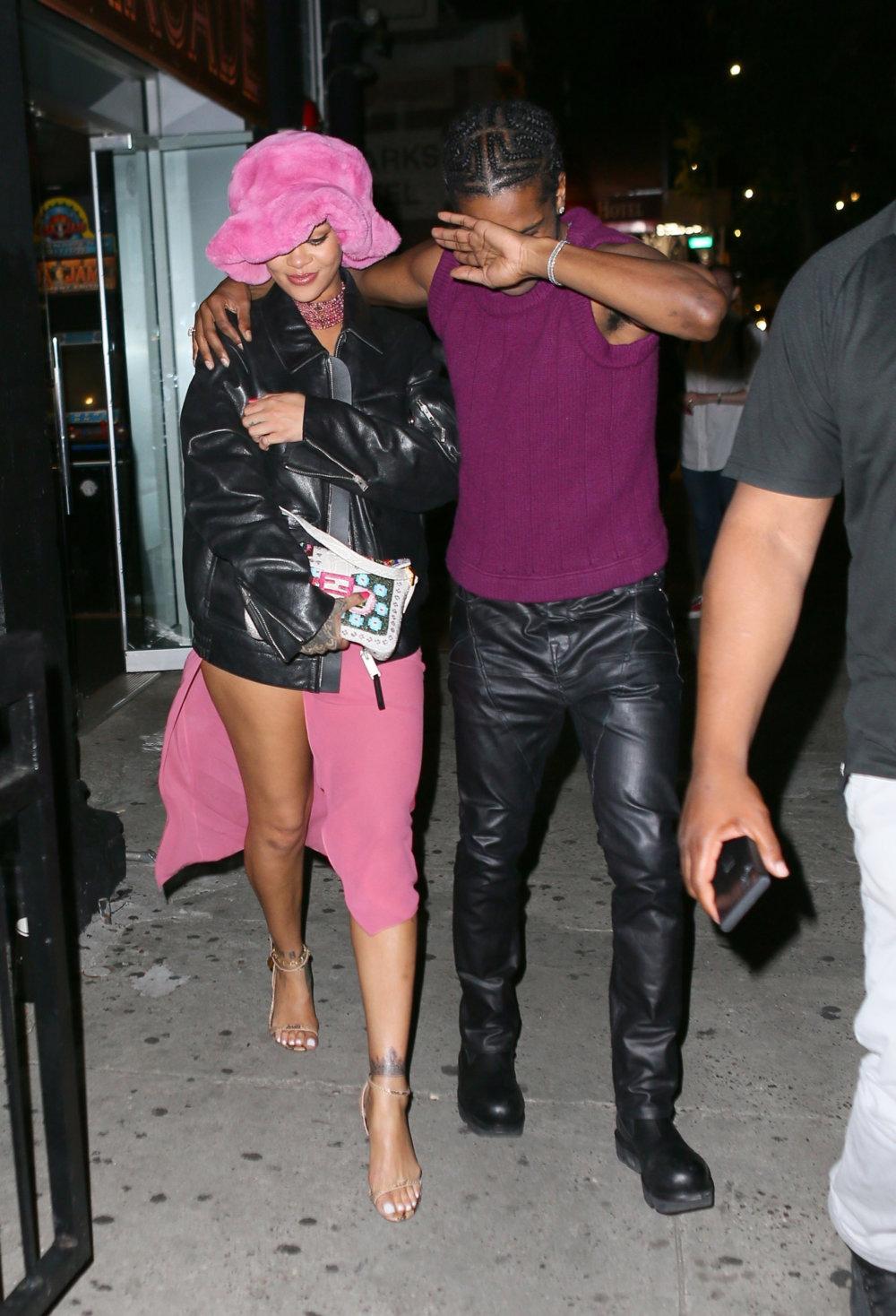 Le niegan la entrada a Rihanna y A$AP Rocky a un bar porque el guardia no sabía quiénes eran