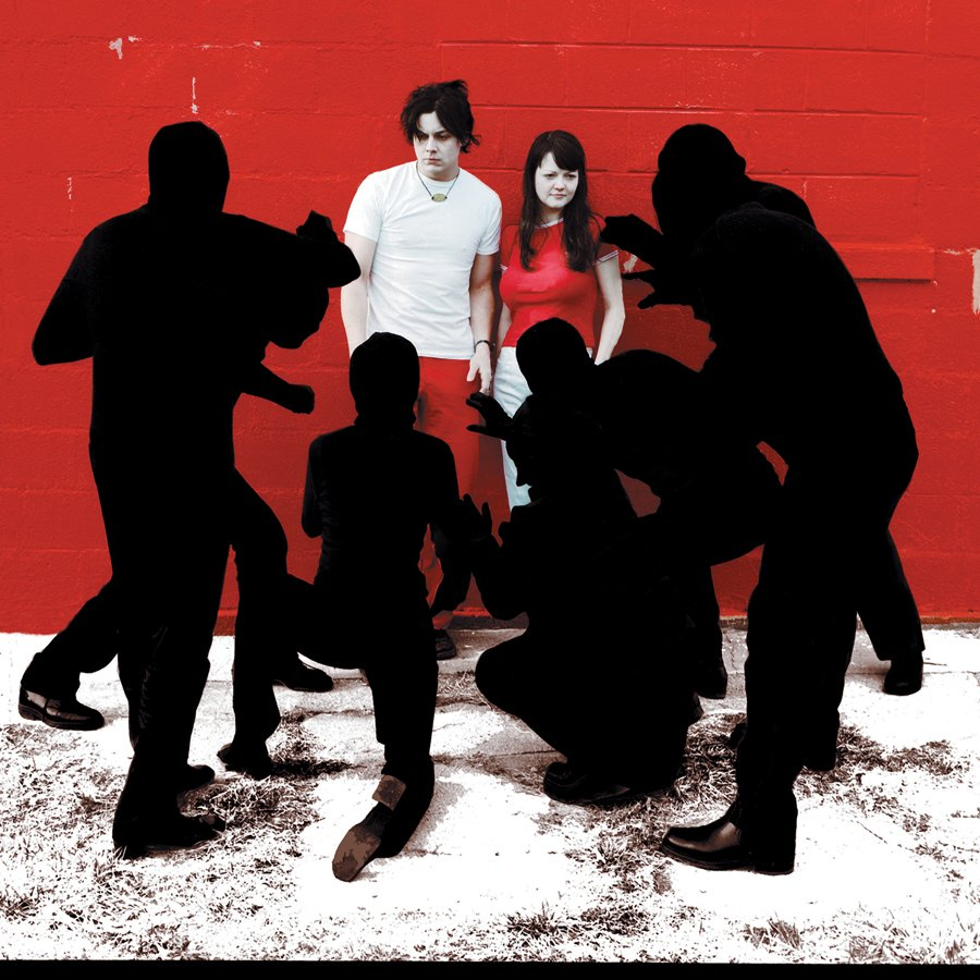 "Portada del álbum ""White Blood Cells (Deluxe)"" de The White Stripes."