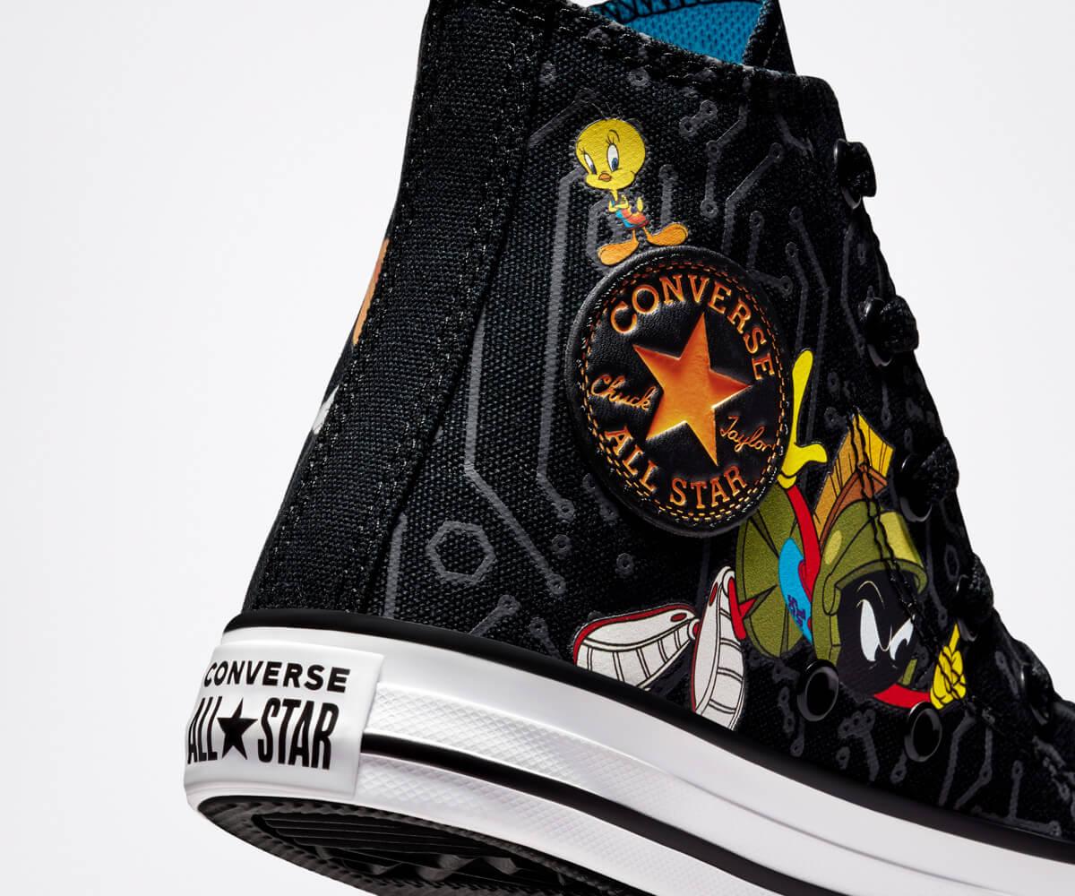 "Colección ""Space Jam: A New Legacy"" de Converse. Fotografía: Converse"