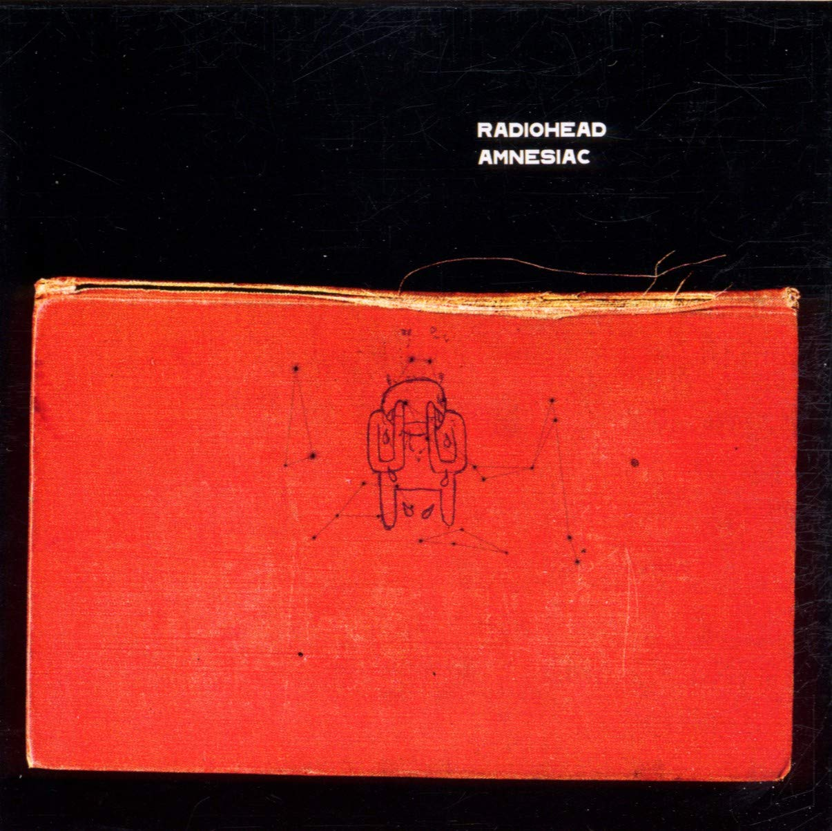 "Portada del álbum ""Amnesiac"" de Radiohead."