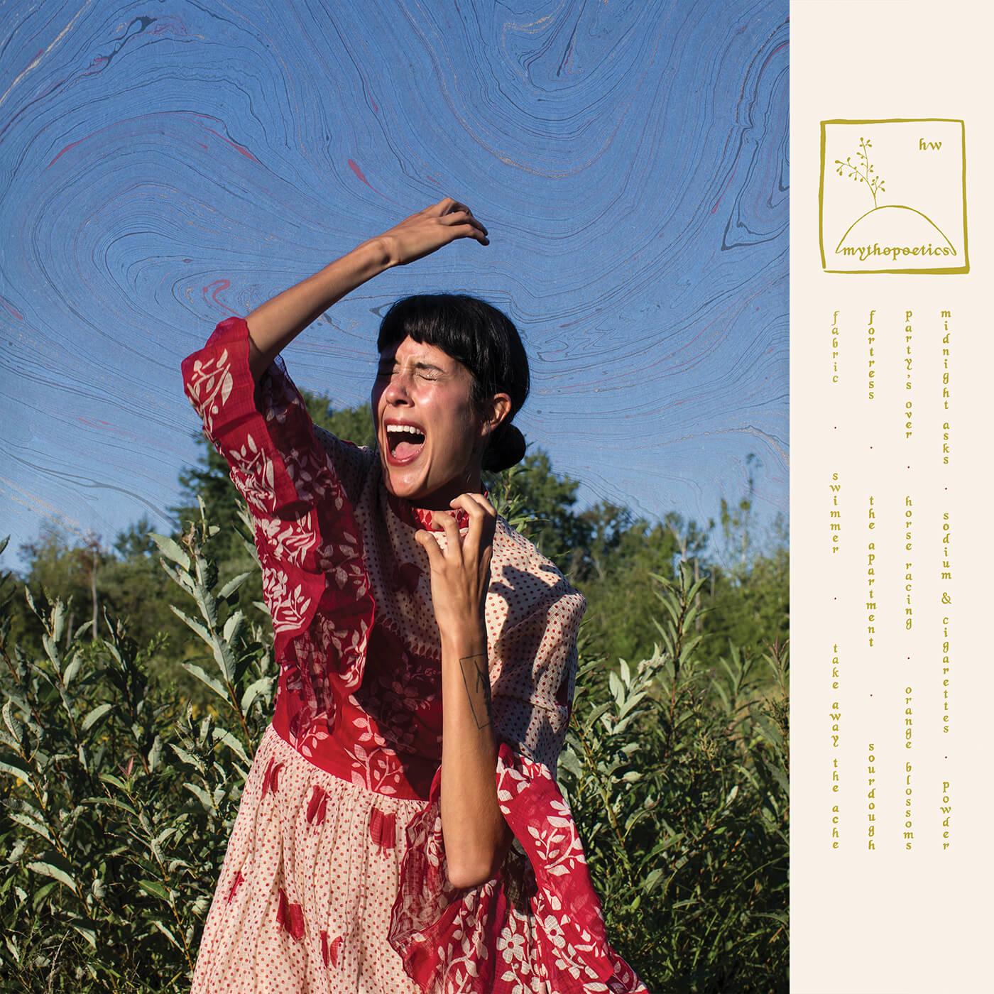 "Portada del álbum ""Mythopoetics"" de Half Waif."