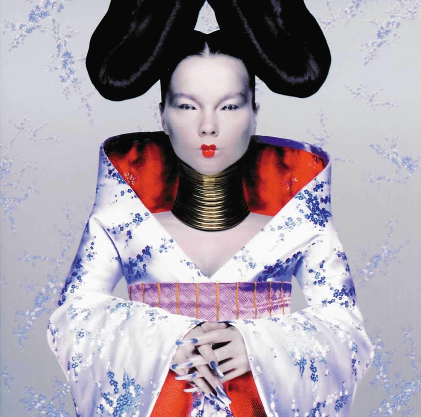 "Portada del álbum ""Homogenic"" de Björk."