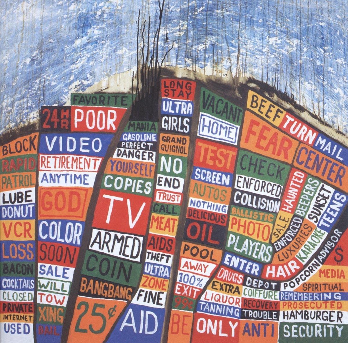 """Portada del álbum """"Hail To The Thief"""" de Radiohead."""