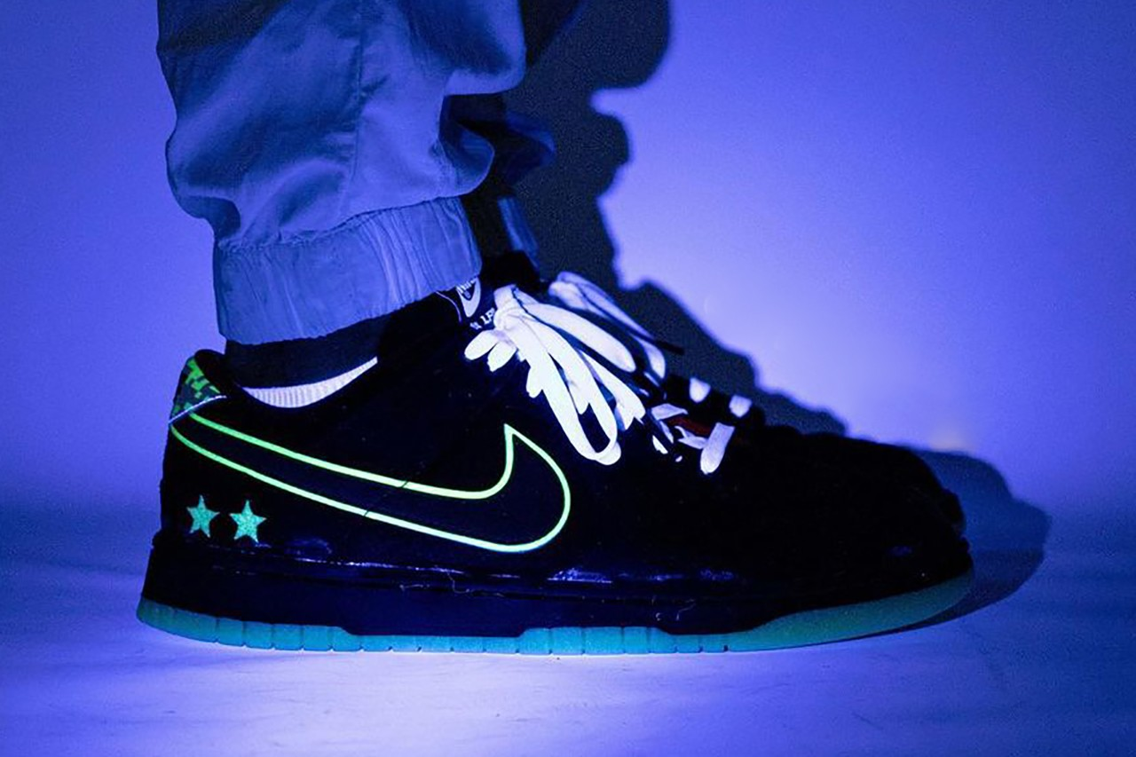 """Estas son las nuevas zapatillas Nike Dunk Low de """"League of Legends"""" que brillan en la oscuridad"""