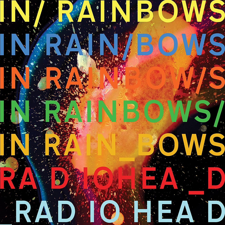 """Portada del álbum """"In Rainbows"""" de Radiohead."""