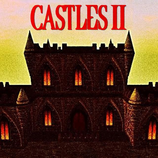 """Portada del álbum """"Castles II"""" de Lil Peep y Lil Tracy."""
