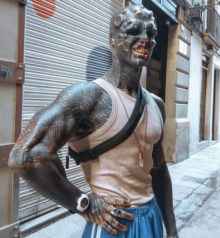 Conoce a Anthony Loffredo, el hombre que busca convertirse en un alienígena con body modification