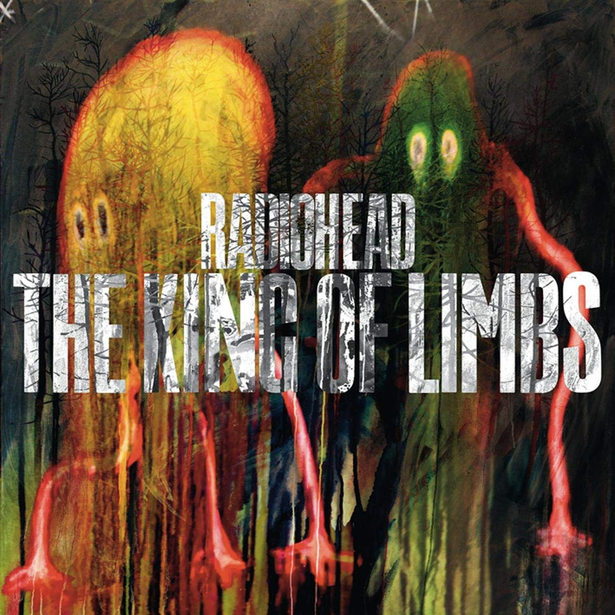 "Portada del álbum ""The King of Limbs"" de Radiohead."