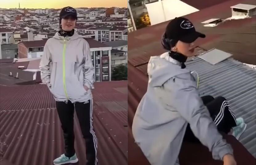 La tiktoker Kubra Dogan, de 23 años, fallece al caer de un edificio mientras grababa un video