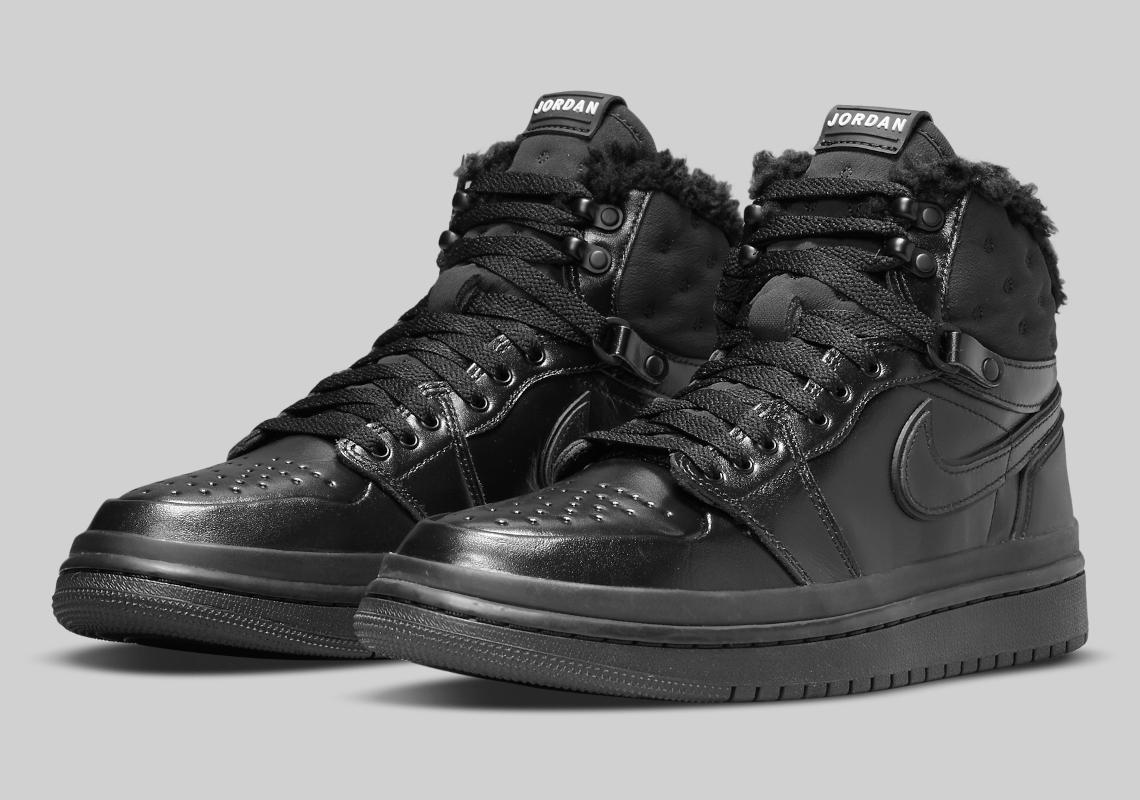 La Air Jordan 1 de Nike se reinventa para el invierno con el modelo Acclimate y faux fur